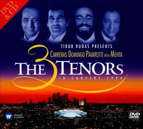 3 TENORS IN CONCERT 1994 BY PAVAROTTI,LUCIANO (CD)